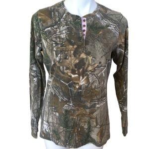 RealTree Camouflage Long Sleeved Shirt